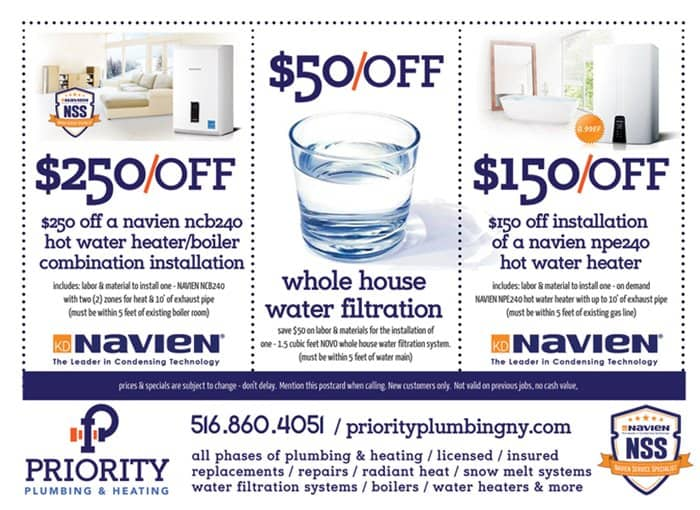 Priority Plumbing Coupon